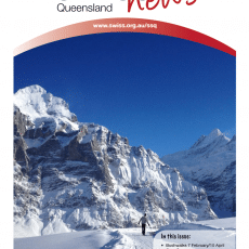 Newsletter Swiss Club Queensland Issue 1 2016