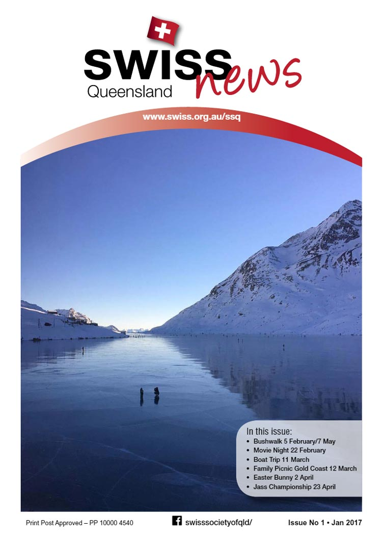 Newsletter Swiss Club Queensland Jan 2017